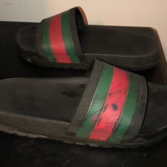 7fcd0d5a173b Gucci Other - Gucci Slides Size 10 mens